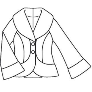 Burda jacket